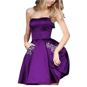 Dresses & Skirts - Beading Homecoming Dresses Formal Gown